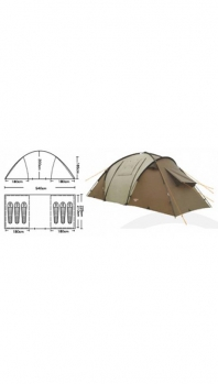 Палатка CAMPACK-TENT Travel Voyager 6