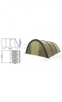 Палатка CAMPACK-TENT Urban Voyager 6