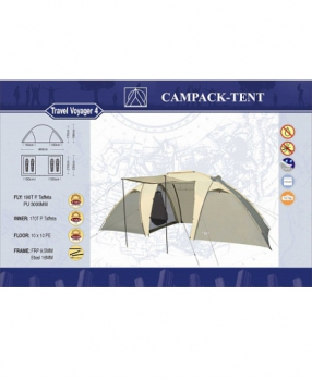 Палатка CAMPACK-TENT Travel Voyager 4
